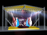 Outside Silver Modern Aluminum Stage Truss For Music Festival