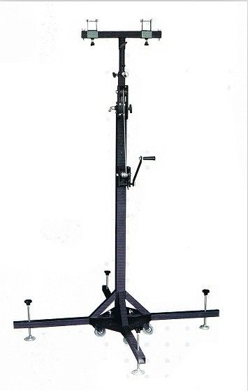East Install 4m Light Weight Steel Truss Lifts Tower Crank Stands For Event Lighting Truss