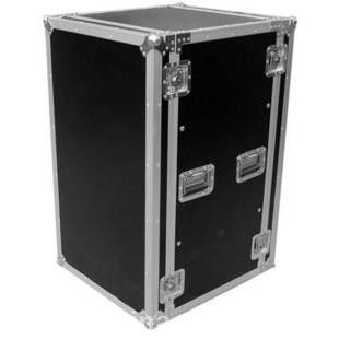 Aluminum Moving Rack Flight Case For Camera / 18U Flight Cases