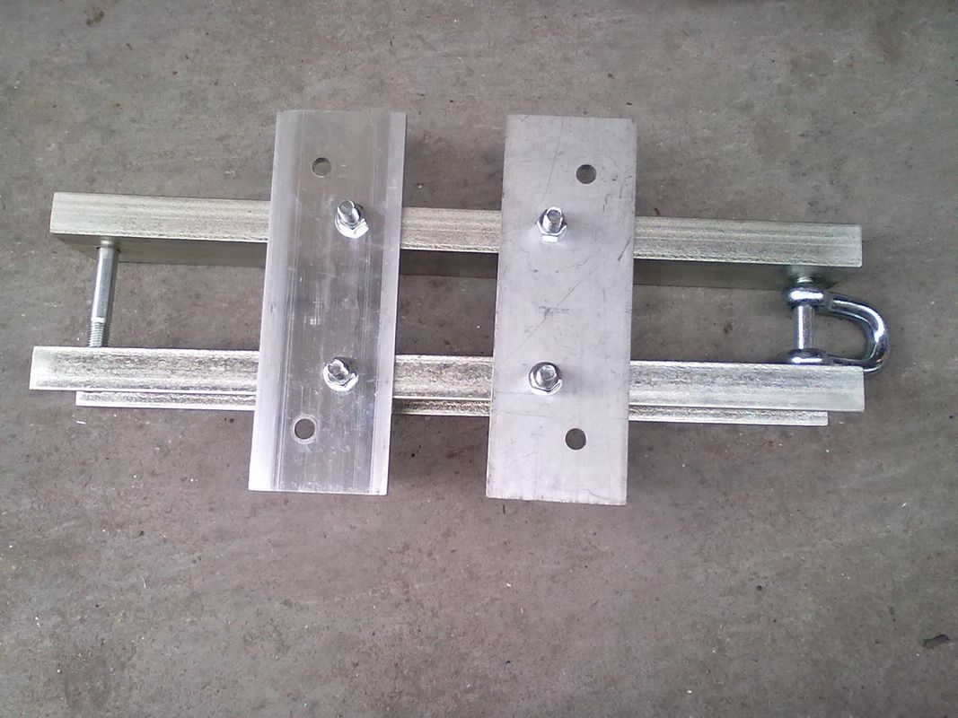 aluminum alloy top piece used in aluminum stage truss connect