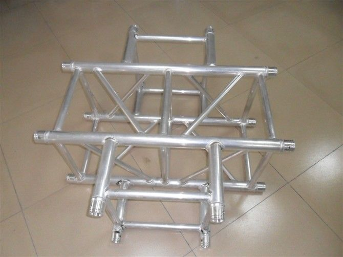 Spigot Square Four Sides Stage Coupler For Aluminum Stage Truss Connect