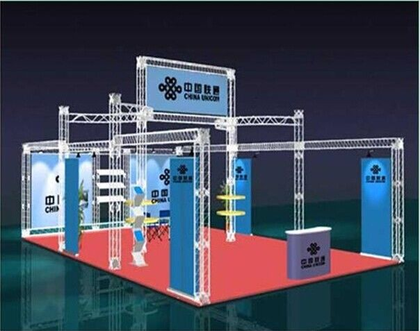 Exhibition Booth Events Aluminum Stage Truss  / T6-6082 Aluminum