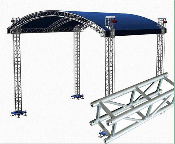 Small Stage Lighting Truss , Spigot Truss , Concert Stage Roof Truss