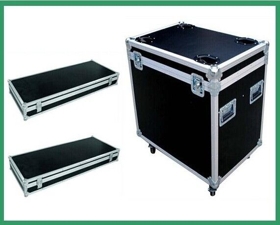 Custom Portable Aluminum Tool Case / Black Handle Equipment Case