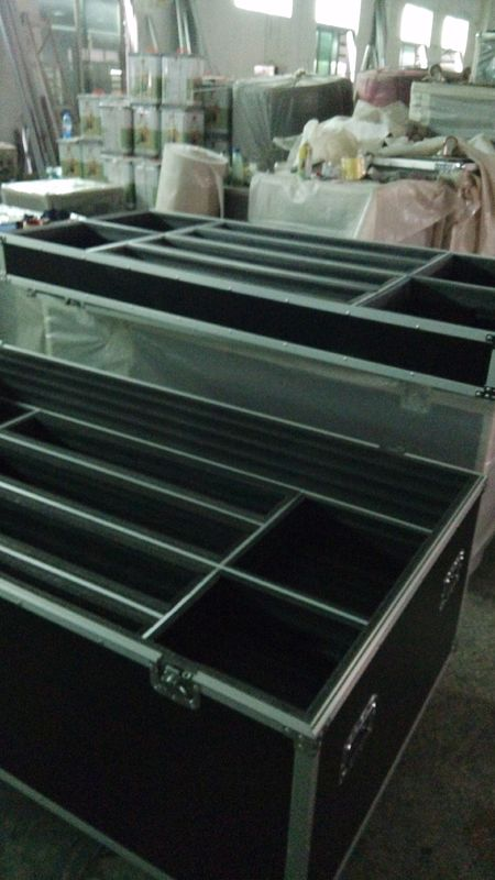 12 MM Black 3 Layers Flight Case For Bollards 530 x 680 x 830