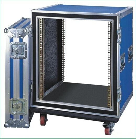 12U Anti-shock Rack Flight Case for Placing Amplifier Equipment