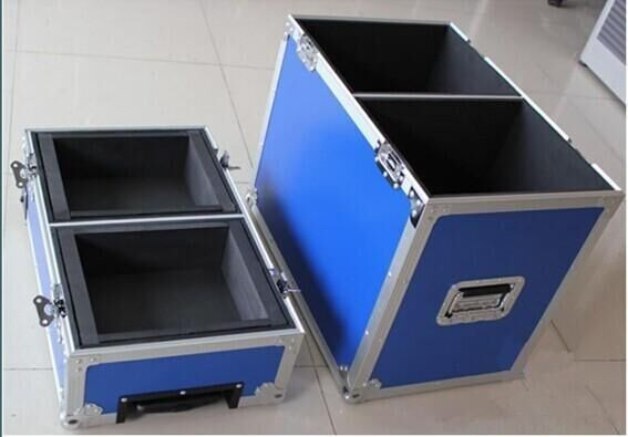 Speaker / Audio Equipment Aluminum Tool Cases , Heavy Duty Case - 40°C - 80°C